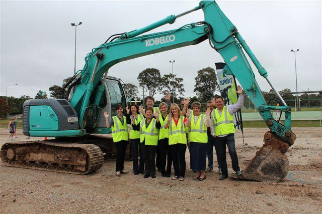 (Left to right) Cr Kim-Maree Hardman, Dehlia Brown, Gloria Dietz-Kiebron, Cr Lance Hewlett, Mayor Karen Williams, Cath Smeeton, Tony O'Regan, Ros Putland, Dennis O'Connell and Steve Gibson.