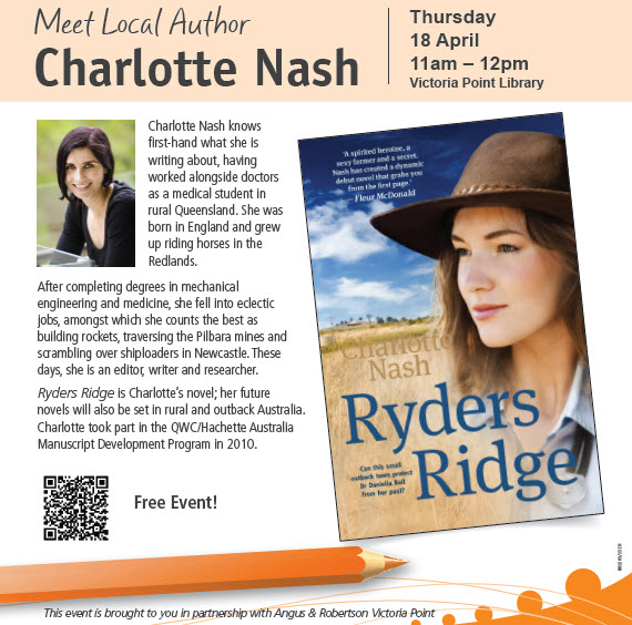 Author in Action: Charlotte Nash