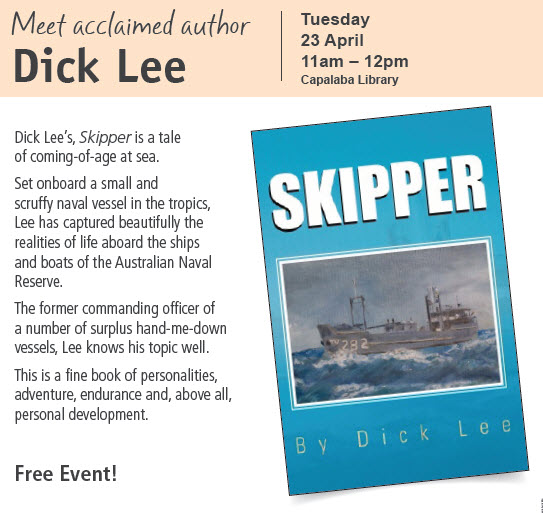 Author in Action: Dick Lee