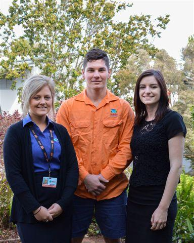Some of Redland City Council's trainees