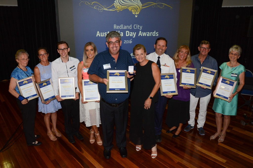 Australia Day award winners