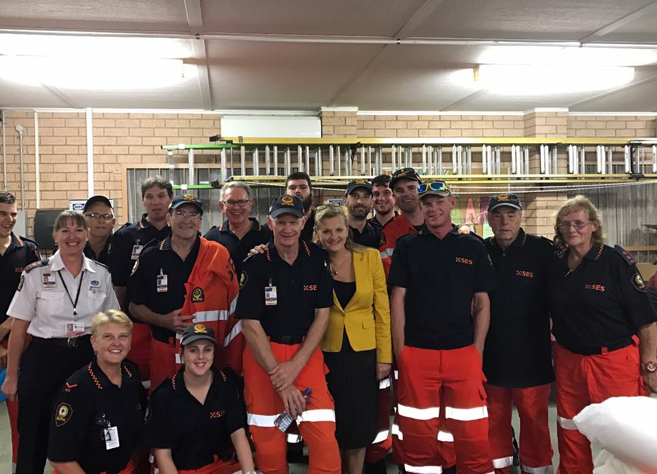Redlands SES heads to Townsville